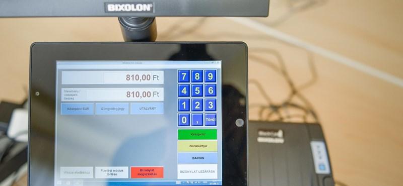 Elektronikus pénz is kerülhet már az e-kasszákba