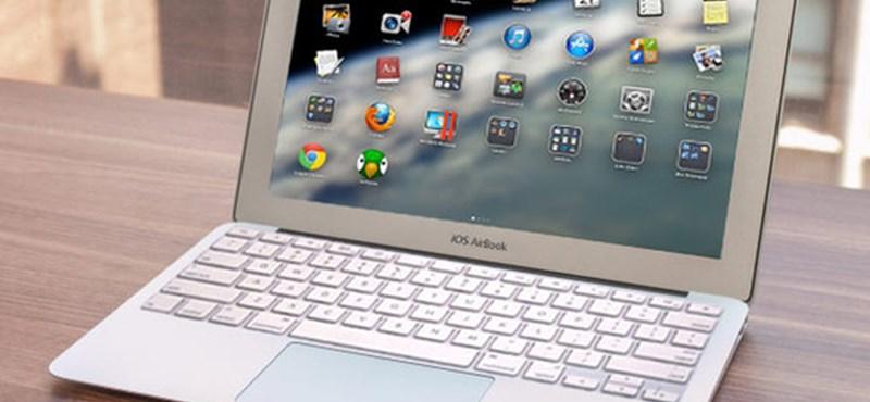 Olyan lesz a laptop, mint az iPhone? iOS-es notebookot csinálhat az Apple