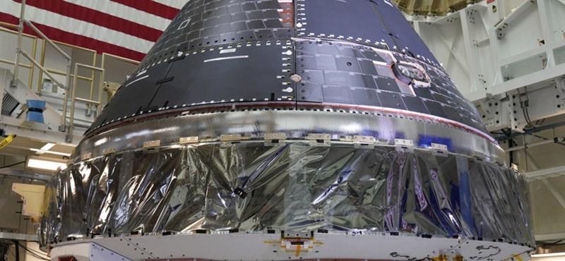 Elkészült az Orion űrhajó, 2020-ban indulhat a Holdhoz
