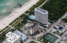 Közel száz lakóját nem találják a Miamiban összeomlott háznak