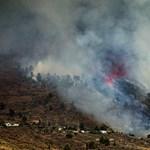 Már 1500 épületet döntött romba a Kanári-szigeteken kitört vulkán