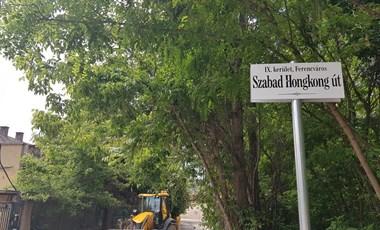 Kínai kormány az átnevezett utcákról: Szégyenteljes