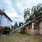Háztetőket bontott meg, fákat döntött ki a Ciara Magyarországon