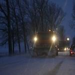 Milliárdokat költöttek hóeltakarításra az utakon