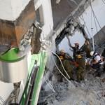 Összeomlott egy mélygarázs Tel-Avivban, ketten meghaltak