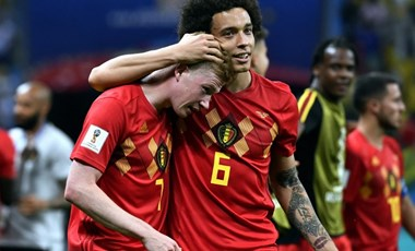 Tudja, milyen nyelven beszélnek egymással a belga játékosok?