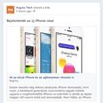 Tegnap még máshogy volt: változás a Facebook-üzenőfalon