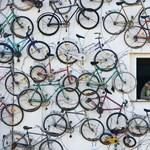 Fotó: ez a legmenőbb bringaboltdizájn
