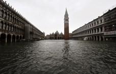 Elárasztotta Velencét a víz