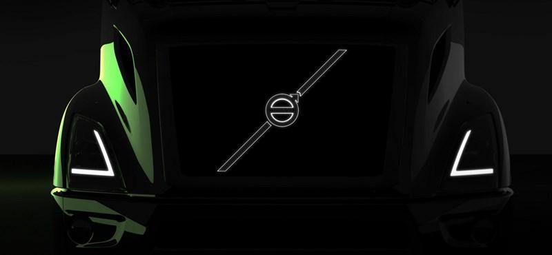 Látványos elektromos kamiont a Volvo is tud csinálni, nem csak a Tesla