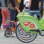 Okostelefonnal is lehet majd Bubi-bringát bérelni