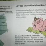 Saját lábán áll a magyar malac - egy kis ideológiai nevelés a nyolcadikos földrajzkönyvben