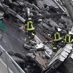 Tündérmesének nevezte az olasz kormánypárt a genovai híd problémáit