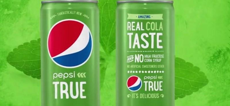 Fotó: Íme a Pepsi (nem túl) csattanós válasza a zöld Coca-Colára