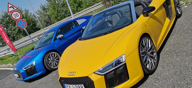 Majdnem Lamborghini: Audi R8-asokat fogtunk vallatóra