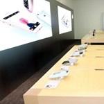 """Újabb """"világ legnagyobb..."""" boltot nyitott az Apple"""