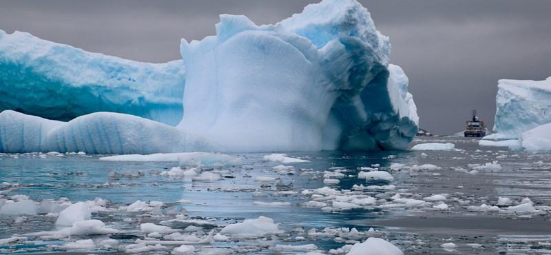 Hatszorosára gyorsult a jégolvadás Grönlandon és az Antarktiszon
