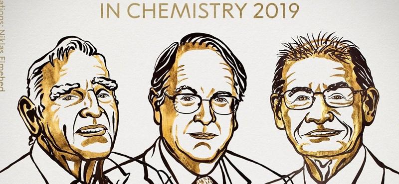 A lítiumion-akkumulátorokért járt idén a kémiai Nobel-díj