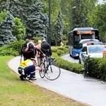 Liu Shaolin Sándor szerint szabályosan bicikliztek, amikor elütötte őket a busz
