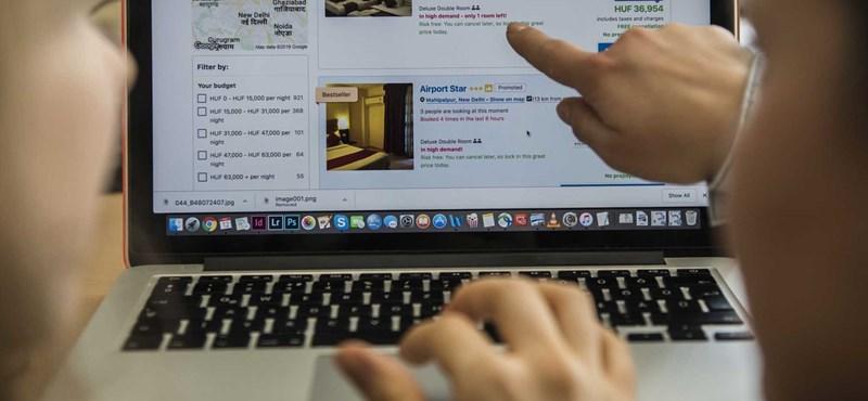 Az egyik online szállásfoglalónál vizsgálódik a GVH