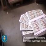 Dollárt hamisítottak a miskolci nyomdában működtetett pénzgyárban - videó