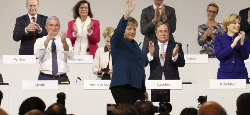 Az első körben nem lett meg Merkel utóda
