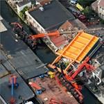 Sokkoló darubaleset történt Hollandiában – videó