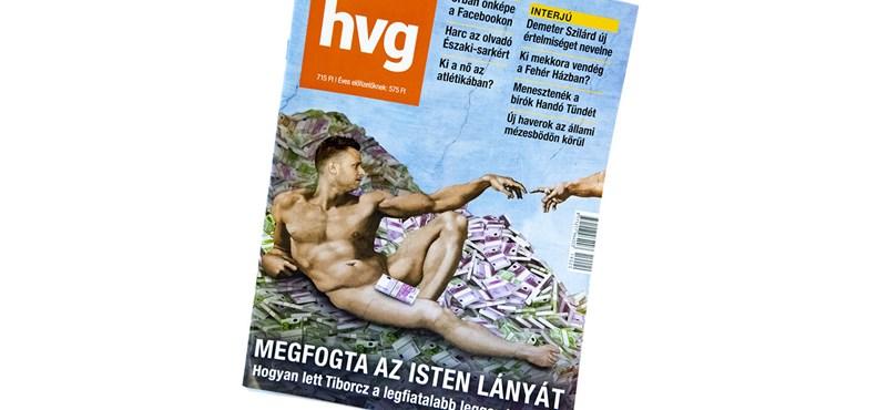 A Vatikánban kóser a HVG címlapja, a Facebookon nem