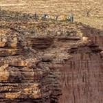 Pasea por el Gran Cañón, si no, en imágenes