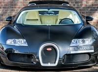 Szinte vadonatúj 13 éves Bugatti Veyron várja új gazdáját