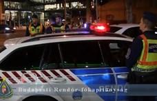 Illegális éjszakai gyorsulási versenyen razziáztak a rendőrök Budapesten
