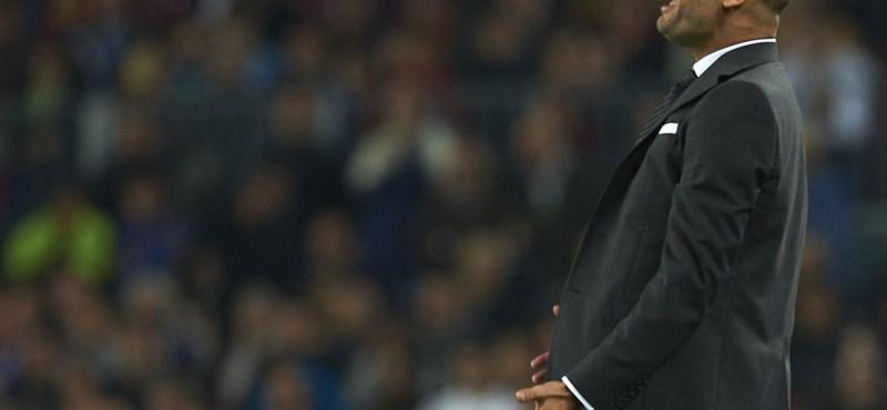 Hová mehet Guardiola a Barcelonából?