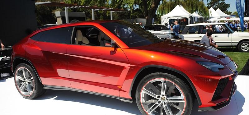 Nincs mese, jön a Lamborghini Urus