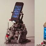 iPhone dokkoló Legóból