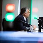 Orbán kedélyesen elbeszélgetett a baracklekvárokról a közmédia műsorvezetőjével