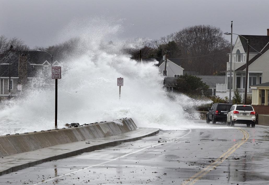 Kennebunk, Maine - Sandy hurrikán