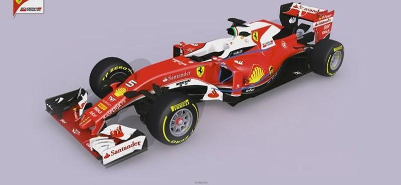 Videó: Így szól az új F1-es Ferrari