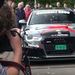 Felgyújtott tuningautó: íme az egyik utolsó videó az 1000+ lóerős Audiról