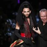 Fotók: Conchita Wurst volt a sztár Gaultier bemutatóján