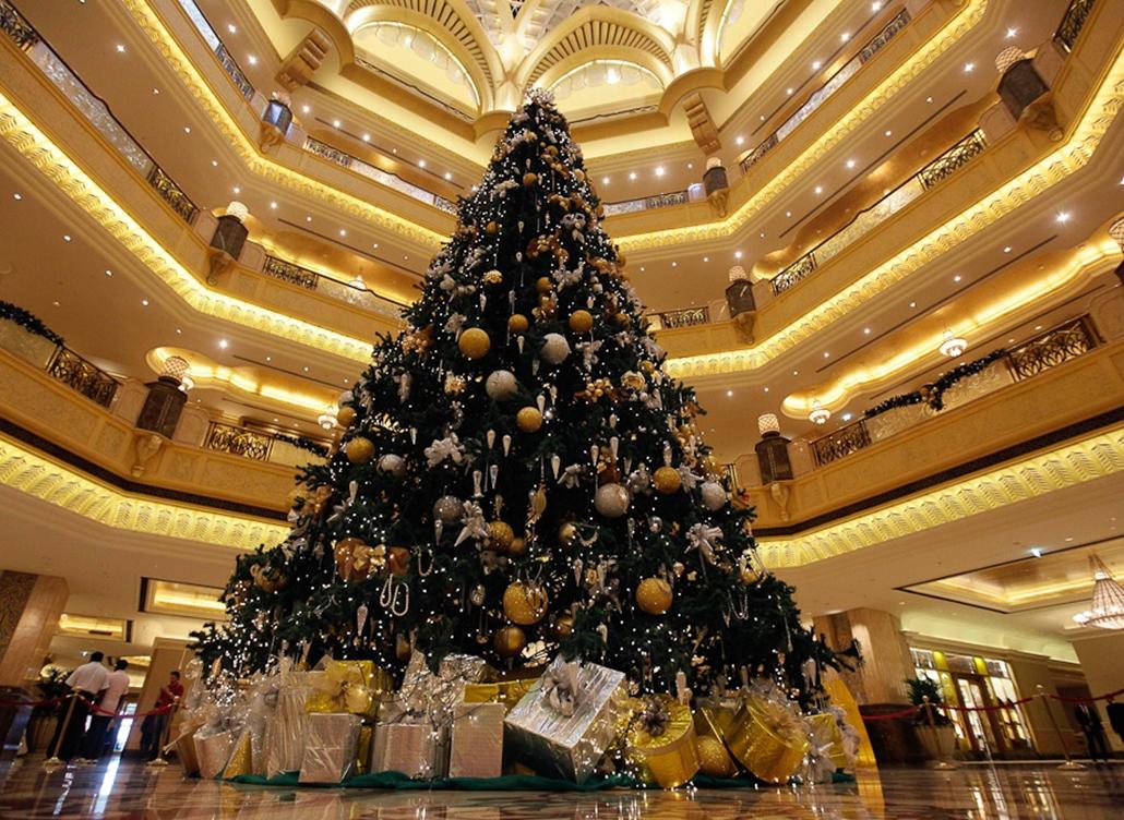 világ legdrágább karácsonyfája hét képei nagyítás