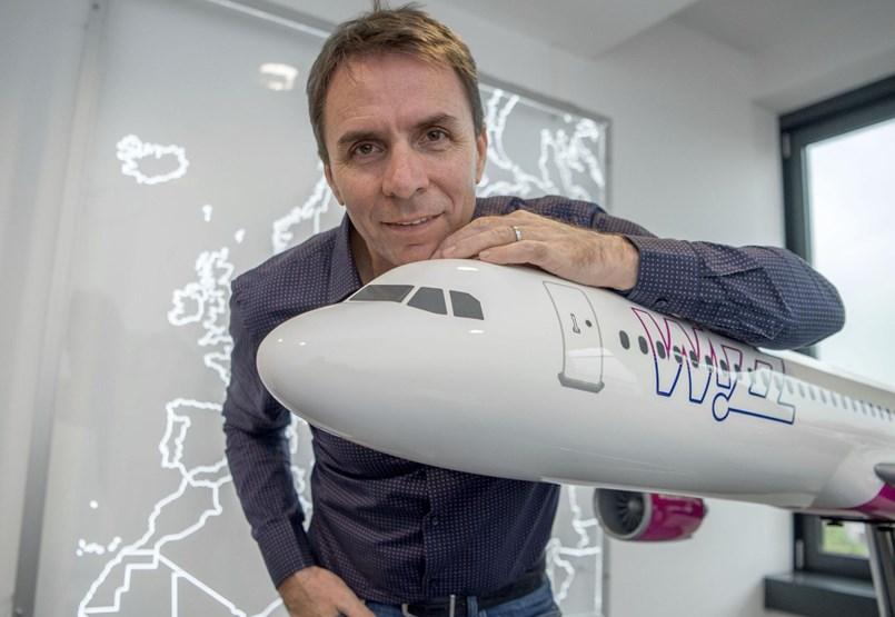 6d4d983951 Váradi József Wizz Air-alapító: Senki nem ülne a repülőgépen, ...