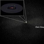 Jéggömböket találtak a Naprendszer peremén
