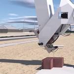 Itt a kőművesrobot, ami 60 perc alatt 1000 téglát tesz a helyére – videó