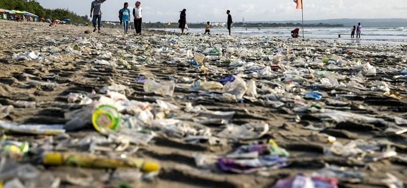 Megháromszorozódhat az óceánokba kerülő műanyaghulladék a következő húsz évben