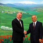 Agyvérzést kapott az üzbég elnök