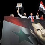 A szíriai rezsim küzdene a terrorizmus ellen