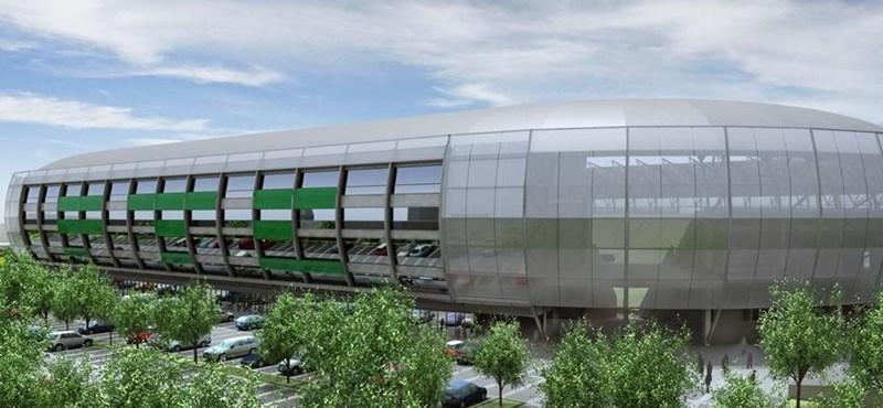Fotók: ilyen lesz a Fradi új stadionja
