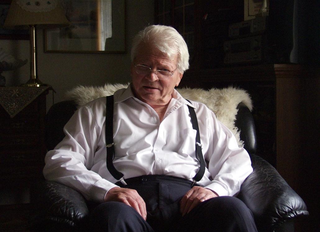 mti.05.10.25. - Budatétényi otthonában Szabó Gyula Kossuth-díjas színész, kiváló művész