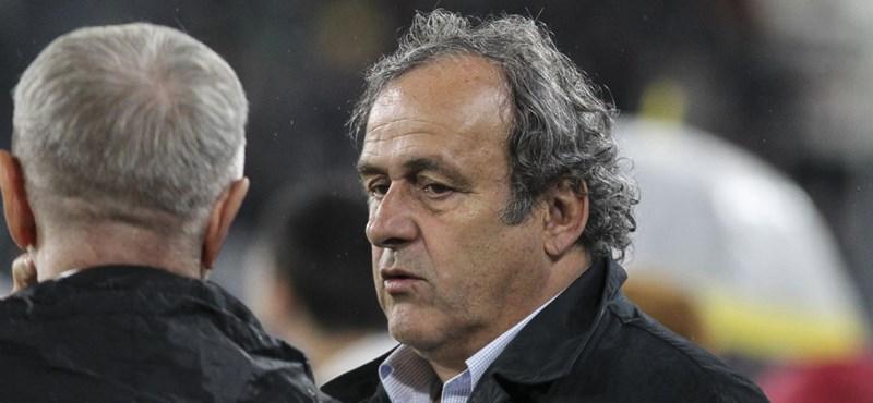 Őrizetbe vették Michel Platinit