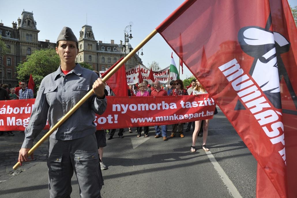 2013. május 1. munkáspárt, Munkáspárt majálisa